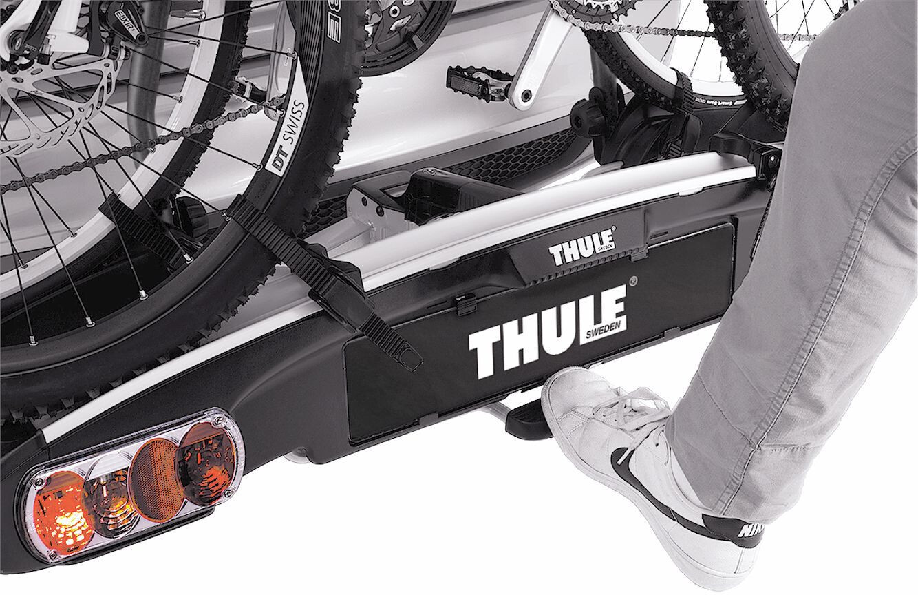 thule e family 937 carrier 3 bike black edition online bei. Black Bedroom Furniture Sets. Home Design Ideas